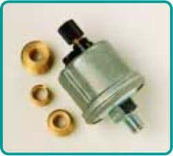 tape or pipe sealant. This will interfere with grounding. Pressure sender Universal pressure sender kit Photos