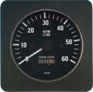 Round bezels may be purchased as an accessory kit. 260 203 333 209 SPEEDOMETER, Pitot Type,