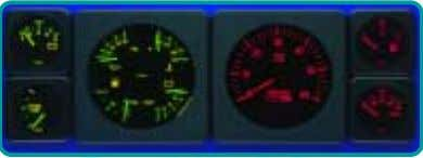 bezels may be purchased as an accessory kit. 260 203 333 209 SPEEDOMETER, Pitot Type, 4""