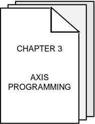 CHAPTER 3 AXIS PROGRAMMING