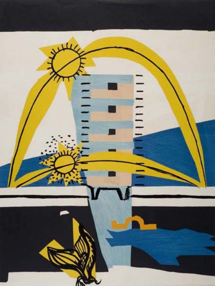 Le Corbusier, Le Poème de l'Angle droit , Tériade, Paris, 1955, lithographs in colors 46