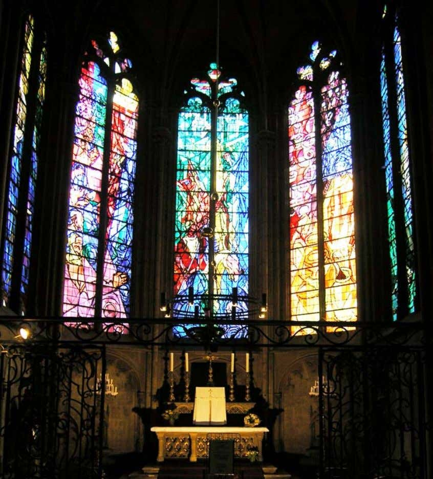 Jacques Villon, Metz cathedral windows 61