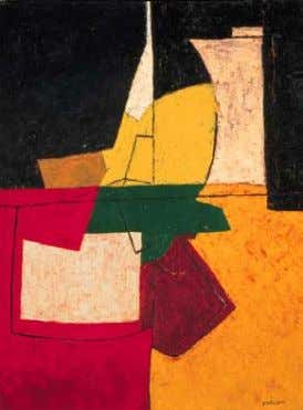 "Serge Poliakoff, 1951 (Alexis Poliakoff, the painter's son, wrote in his notes: ""I find again"