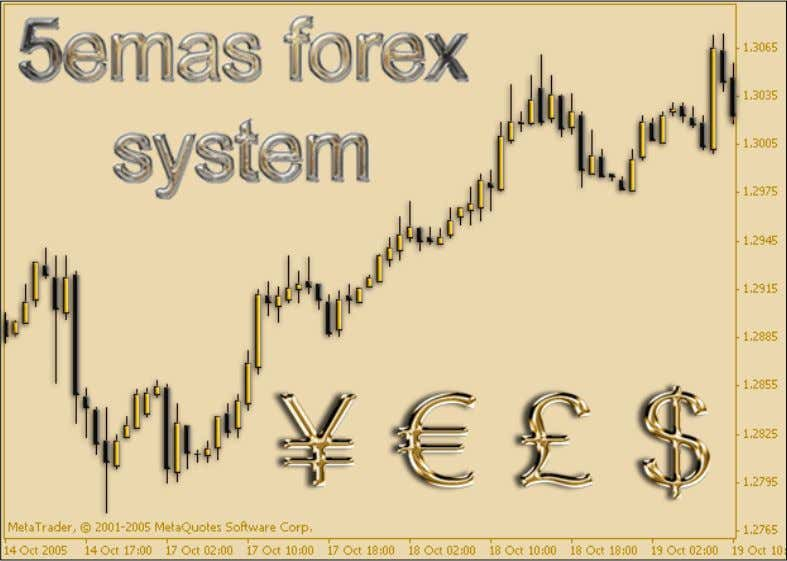 5 EMAs FOREX SYSTEM Descr i ption of the system The 5 EMAs FOREX SYSTEM consists