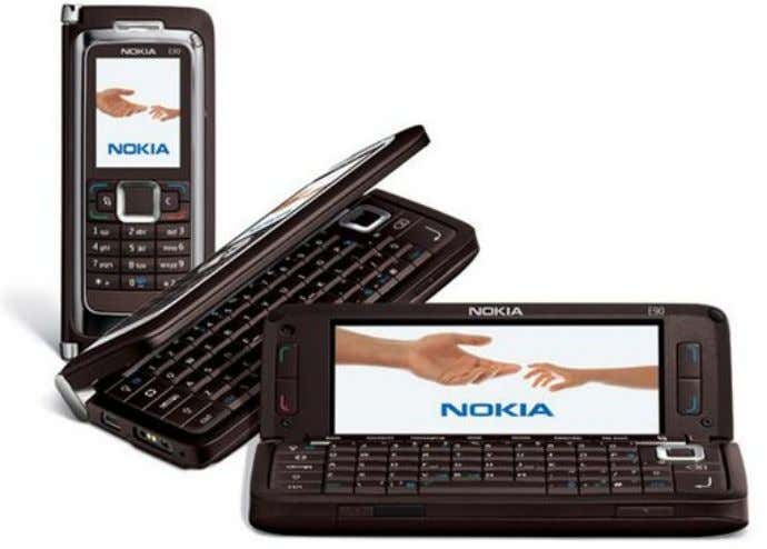 "Nokia E90 Communicator targets the ""innovator segment"" for its fifth generation of Communicators Copyright: Raja Shuja-ul-Haq"