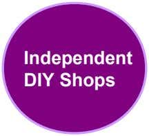 Independent DIY Shops