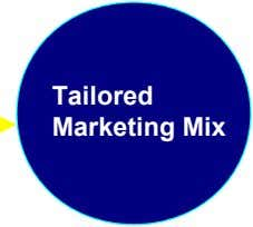 Tailored Marketing Mix