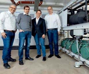 GmbH, Germany: PC-based control runs compound CO 2 refrigeration system, eliminating the need for regular defrosting