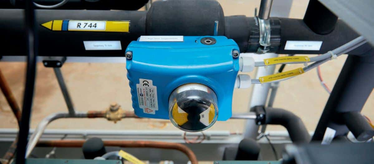 sophisticated controls for this compound refrigeration system ourselves, which allowed us to maintain total control of