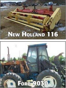 NeW HOllAND 116 FORD 9030