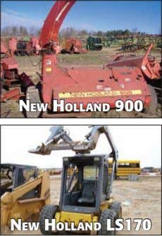 NeW HOllAND 900 NeW HOllAND lS170