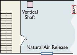 Vertical Shaft Natural Air Release