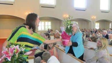 Baptisms May 13, 2013 Honoring Mothers on Mother's Day Welcome to Our New Members! Jill Starr,