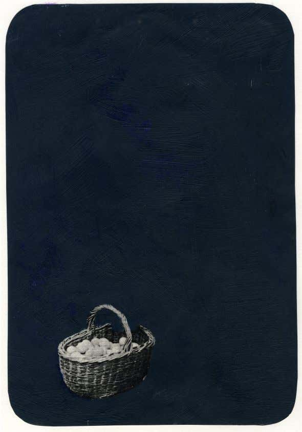 (Steer, 1969) Rebecca Smith Blue Basket, 2012 [Fig.32] Acrylic on old photograph copy