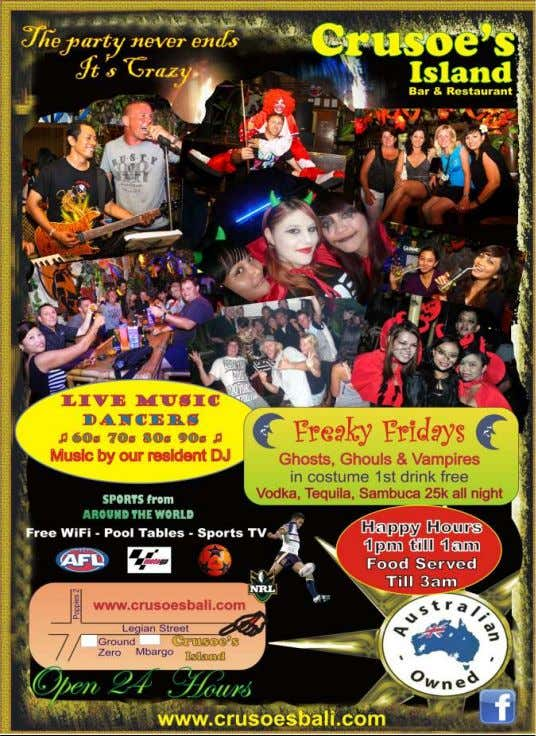 Kuta Weekly 23 Feb - 29 Feb 2012 (273) News Corner Kuta Weekly 23 Feb -