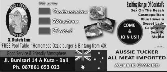 *FREEPoolTable *HomemadeOzzieburger&Bintangfrom40k