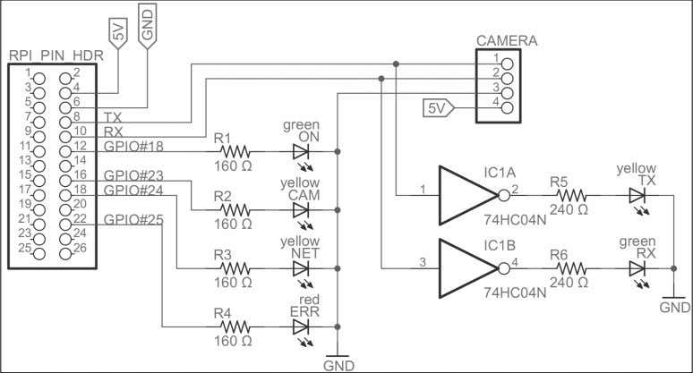 can be better understood with the following circuit diagram: A circuit diagram for the camera project