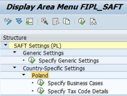 the menu belonging to Poland to access the next sub-menu. 2.3 Specify Generic Settings in detail