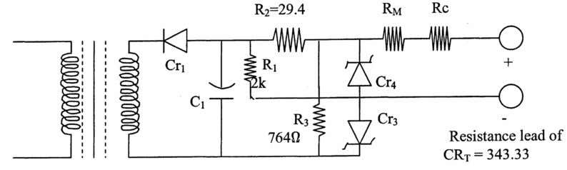 53. What is the constant voltage unit? The constant voltage circuit consists of a rectifier, CR,