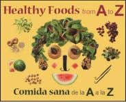 $39.95 (CAN $47.99) ISBN: 9780615898278 Green Circle Press Healthy Foods from A to Z Edited by