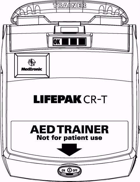 LIFEPAK ® CR–T AED Trainer Operating Instructions