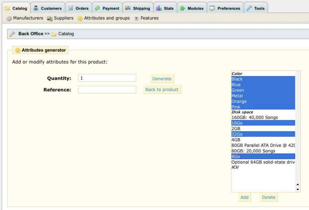 include in order to create a specific model/attribute group. 6. Click Add . The selected attributes