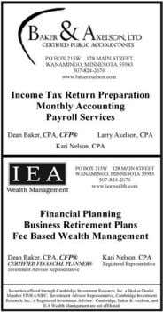 WEDNESDAY, AUGUST 5, 2015 Business Directory ACCOUNTING & Company Ltd. Certified Public Accountants TAX,