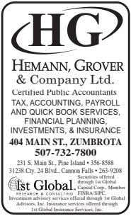 & Company Ltd. Certified Public Accountants TAX, ACCOUNTING, PAYROLL AND QUICK BOOK SERVICES, FINANCIAL PLANNING,