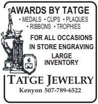 AWARDS BY TATGE • MEDALS • CUPS • PLAQUES • RIBBONS • TROPHIES FOR ALL