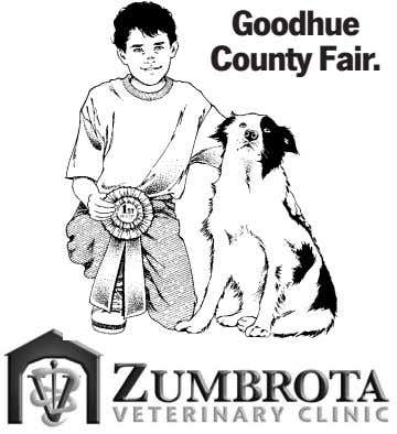 Luck to all the 4-H'ers and contributers at the Goodhue County Fair. 1412 Northstar Drive, Zumbrota