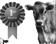 County Fair Participants! Sheep and Goat Ultrasounding Vaccination Programs Dairy Herd Management Programs