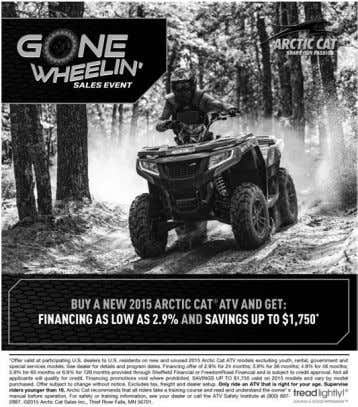 See our preowned inventory at www.MotoProz.com 2014 Arctic Cat Prowler 500 HDX Limited • $8,995