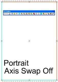 Sign Blank Cut Window CraftROBO • If you wish to do a landscape mode cut, then