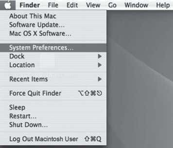 "3. Go to the Apple Menu and locate ""System Preferences"". 4. Under ""Hardware"" click on the"