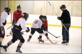 TIRE WAREHOUSE RAIDERS Come Watch Some Great Hockey! The seventh annual Hockey Day in GA saw