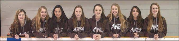 February 12, 2016 • Strathmore TIMES • Page 19 Local ringette players Taneil Kalbhen (l-r), Hailey