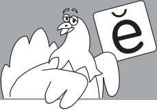 Peg the Hen TM Complete each word to rhyme with Hint: Use the picture clues to