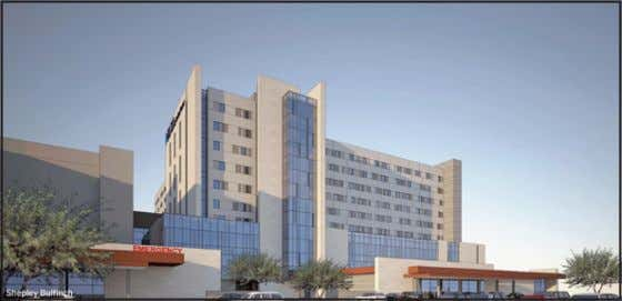 research in many health science disciplines The new 670,000 sq. ft. University Medical Center Tucson is