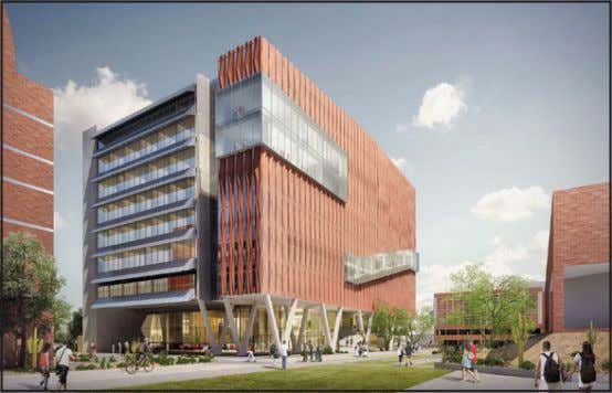 The Health Sciences Innovation Building will triple the space allocated to students' community life and