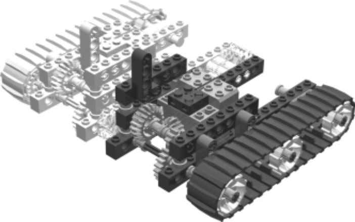 7 Connect the two drive sub-assemblies together as shown. Inventing Space Available Connector blocks, like the