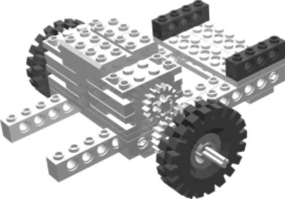 Base Step 5 Robot 5 • Nessie Bricks & Chips… Using Wheel Variations You may want