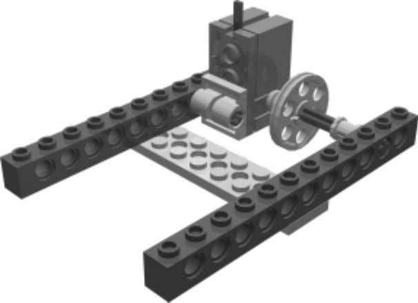 The Slider Robot 6 • Nellie The sliding wheel and rotation sensor are incorporated in this
