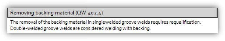 welder groove welds are consid ered welding with backing. A product of Engineering Pulse Limited, UK