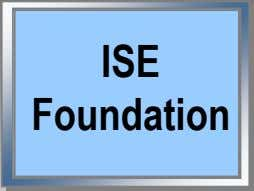 ISE Foundation