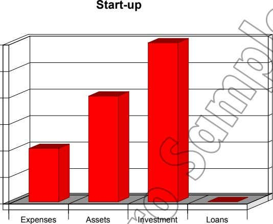 Start-up Expenses Assets Investment Loans