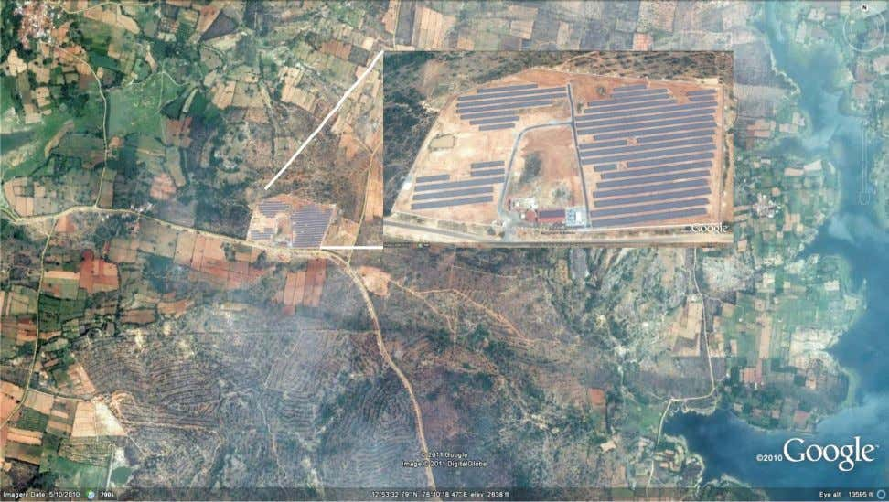 2 Figure 1 : Photovoltaic Solar Power Plant at Yalesandra, Kolar, Karnataka Table 1 : Mega
