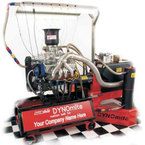 support Affordable* *Financing and leasing options available Land & Sea's DYNOmite Dynamometers are affordable,