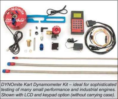DYNOmite Kart Dynamometer Kit – ideal for sophisticated testing of many small performance and industrial