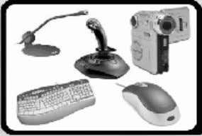 of input devices are: § Keyboard § Light Pen § Joystick § Microphone § Mouse §