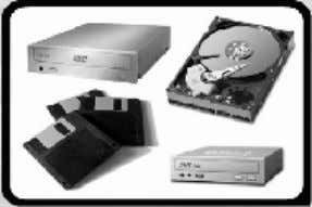 such as hardisk, Floppy Disk, diskette, CD ROM and DVD ROM. COMPUTER SOFTWARE There a 2